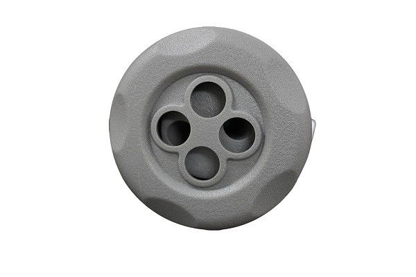 Double Rotatory Textured Gray Bathtub Nozzle Hot Tub Jets For Swimming Pool