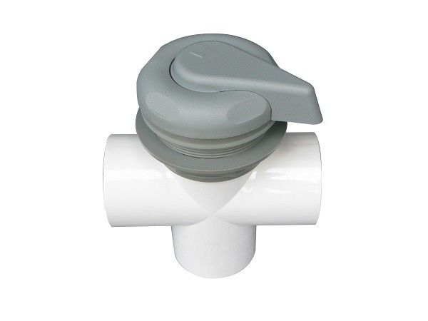 Spa Topside 2 Inch Vertical Two Tone Hot Tub Diverter Valve Replacement With Handle